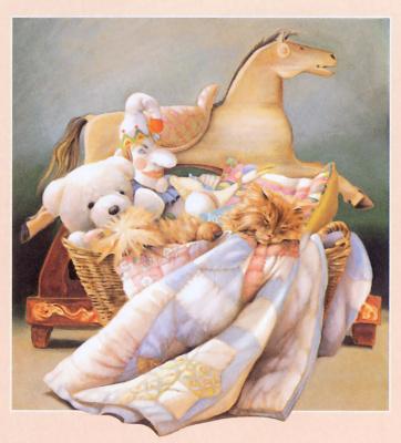Nancy Noel. Basket of toys
