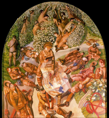 Stanley Spencer. Map