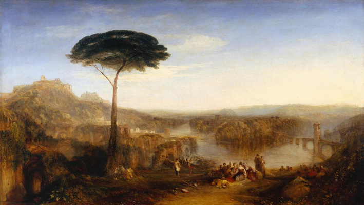 Joseph Mallord William Turner. Pilgrimage Childe-Harold. Italy