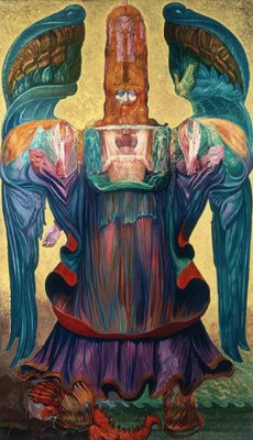 Ernst Fuchs. The Angel Of History. The project for the parish of St. egid parish Church of Klagenfurt