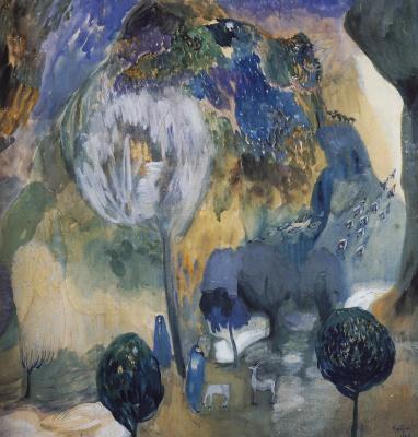 Мартирос Сергеевич Сарьян. Цветущие горы (В ущелье Ахуряна)