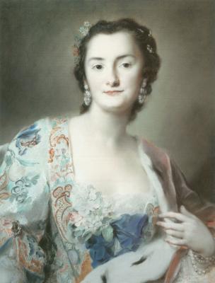 Розальба Каррьера (Каррера). Графиня Анна Катарина