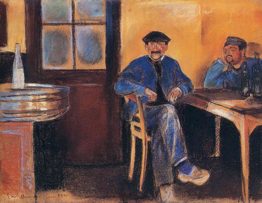 Edvard Munch. Tavern in St. cloud