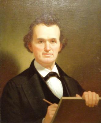 George Caleb Bingham. Self-portrait