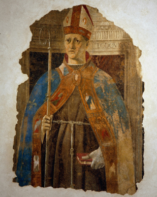 Piero della Francesca. Saint Louis Of Toulouse