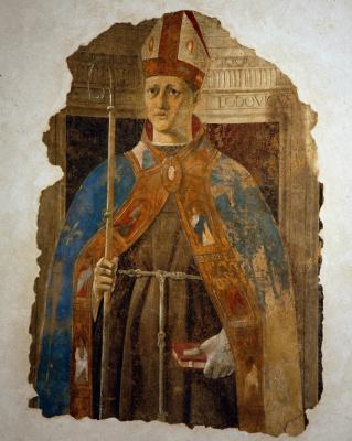 Piero della Francesca. Saint Louis Of Toulouse