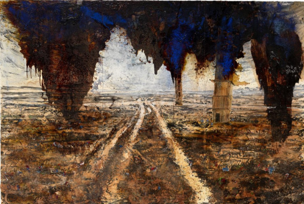 Anselm Kiefer. Plot No. 10