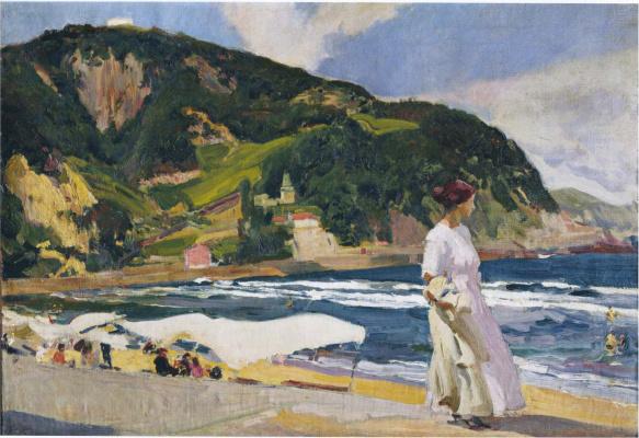 Хоакин Соролья (Соройя). Мария на пляже, Сараус
