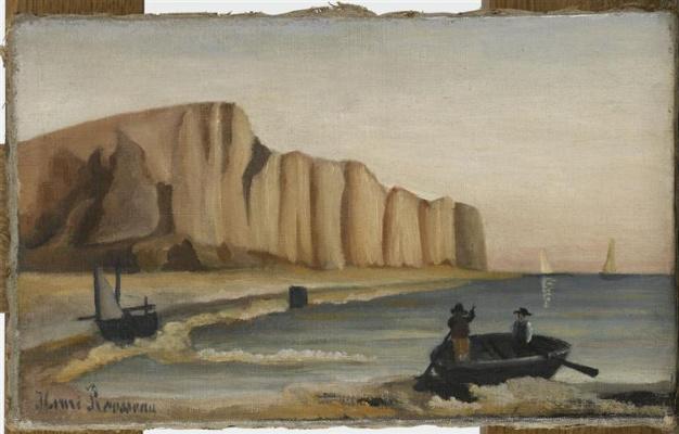 Henri Rousseau. Cliffs