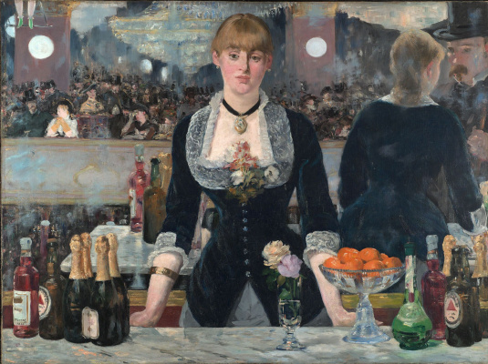 Edouard Manet. Bar at the Folies-bergère
