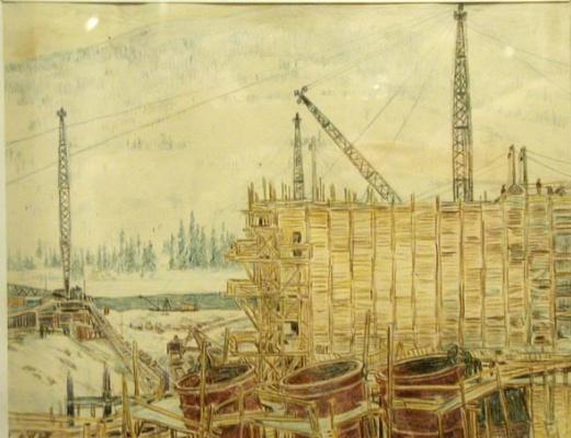 Фогелера. Строительство НИВА-ГЭС