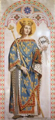 Жан Огюст Доминик Энгр. Святой Людовик, король Франции