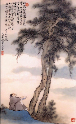 Хуа Сан Цюань. Сосна