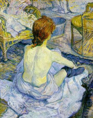 Henri de Toulouse-Lautrec. Restroom