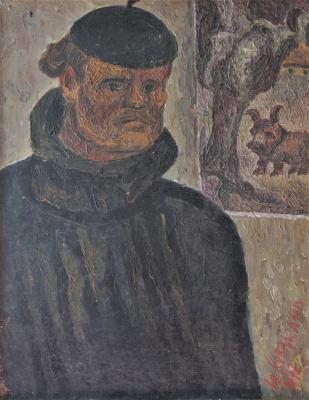 Юрий Андреевич Коваленко. Автопортрет.