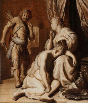 Jan Livens. Samson and Delilah