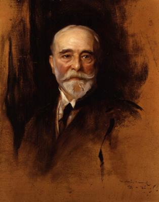 Филип Де Аликсис Ласло. Сэр Люк Филдес (Самуэль).  1914