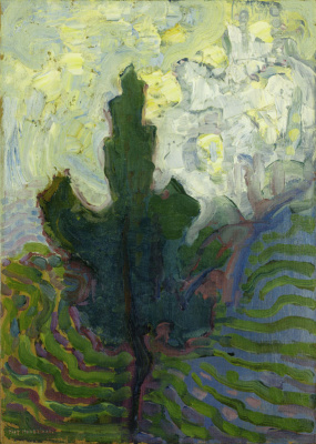 Piet Mondrian. Tree