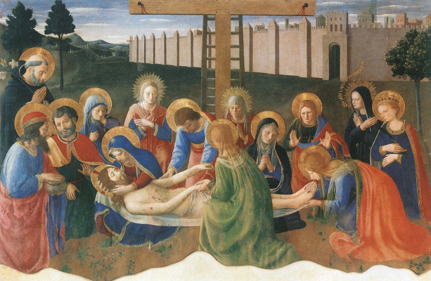 Fra Beato Angelico. Lamentation of Christ.