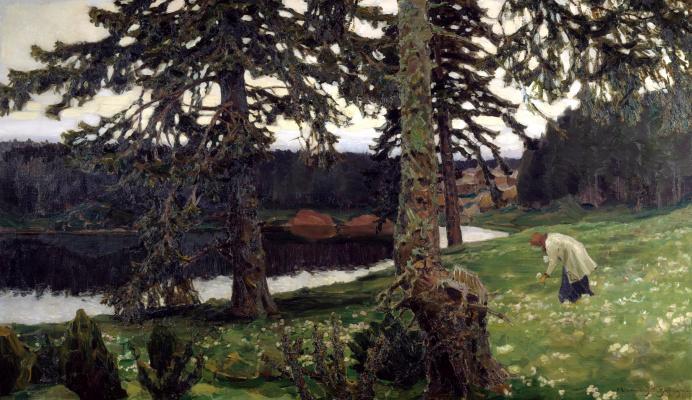 Apollinarius Mikhailovich Vasnetsov. Lake