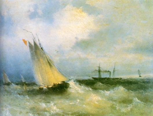 Ivan Constantinovich Aivazovski. Marina