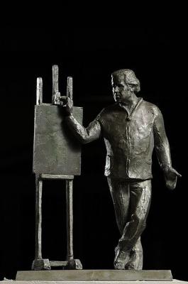 Victor Bezumov. Portrait of Sergey Dobryakov