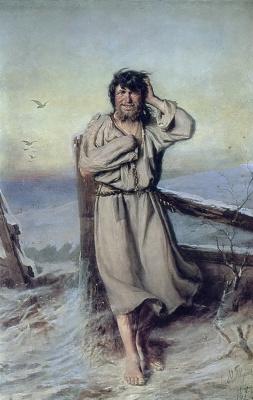 Василий Григорьевич Перов. Блаженный