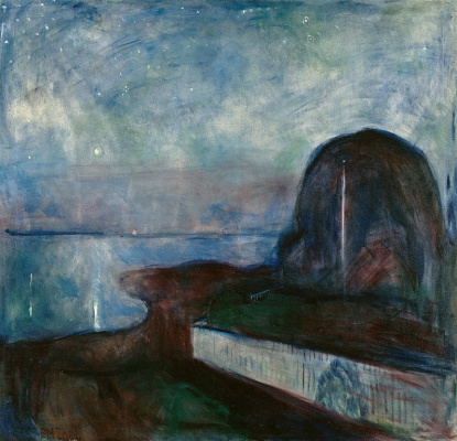 Edvard Munch. Starry night
