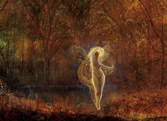 John Atkinson Grimshaw. Autumn sun