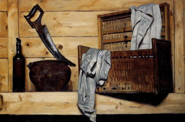 Heliy Mikhailovich Korzhev. In the closet