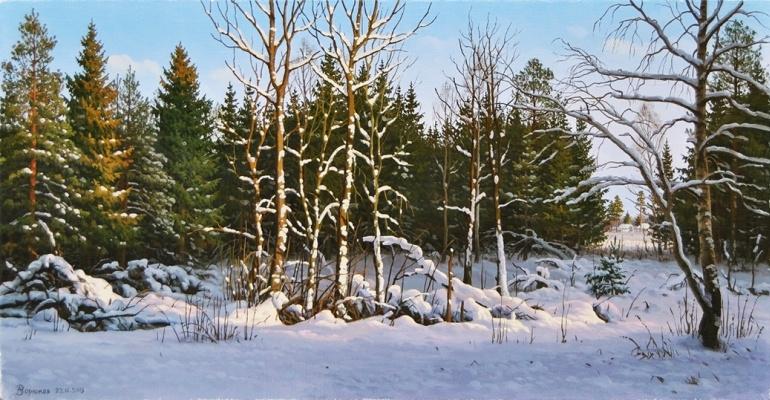 Alexander Vasilyevich Zoryukov. Forest Nooks