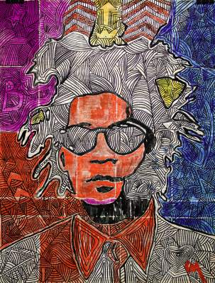 Marat Cherny. Basquiat