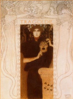 Gustav Klimt. Allegory Of Tragedy