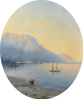 Ivan Aivazovsky. View Of Yalta