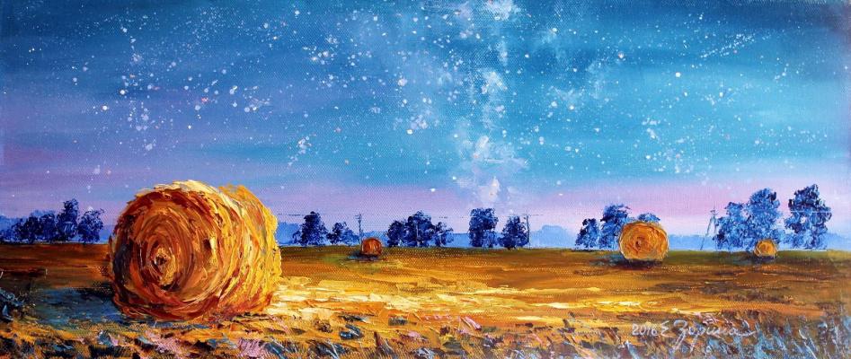 Elena Nikolaevna Zorina. Starry sky