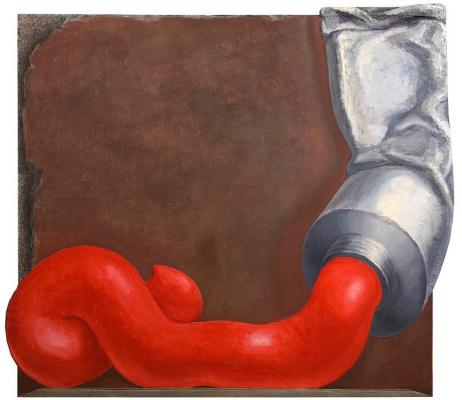 Андрей Борисович Гросицкий. Red paint
