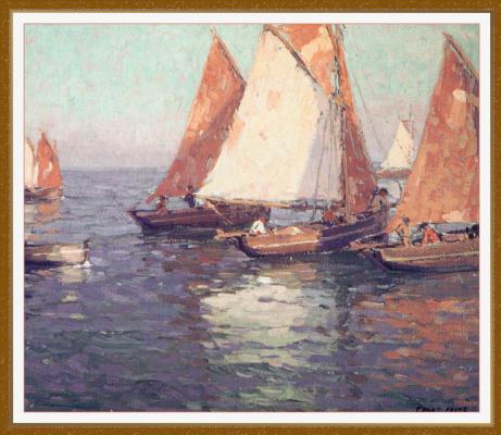 Edgar Payne. Sails