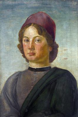 Флорентийский Итальянский. Портрет молодого человека