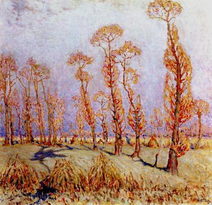 Николай Григорьевич Бурачек. Golden autumn