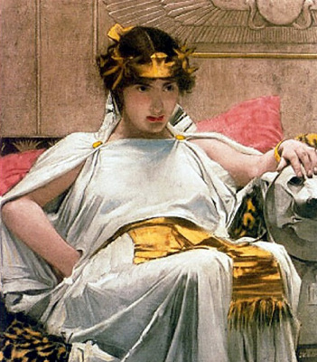 John William Waterhouse. Cleopatra