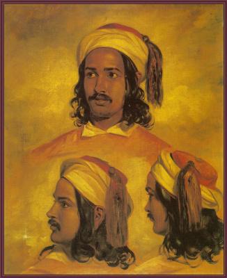 Etty William. Sketches of Arab
