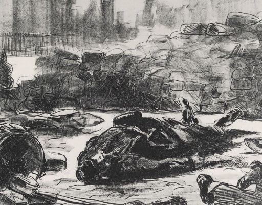 Edouard Manet. Civil war