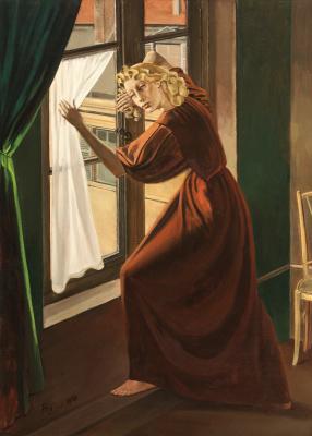 Balthus (Balthasar Klossovsky de Rola). Lady abdi