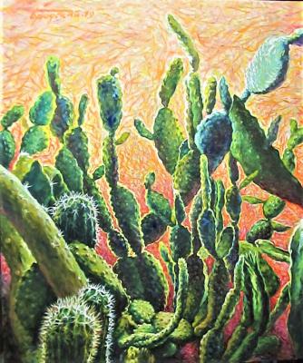 David Shikovich Brodsky. Cacti - 2