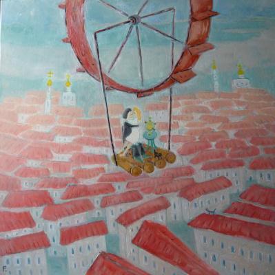 Svyatoslav Ryabkin. Lovers of the city lovers over the city