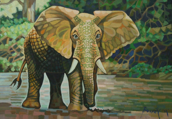 Sergey Volkov. Cubic Elephant