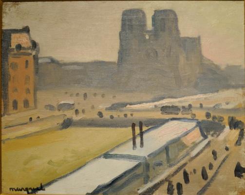 Albert Marquet. Notre Dame. Flood.