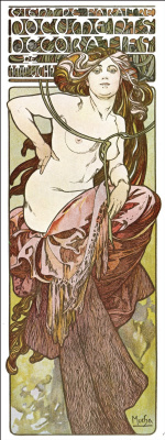 Alphonse Mucha. Decorative papers