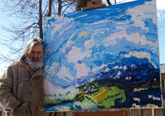Alexander Ocher Kandinsky-DAE. Kukuy view