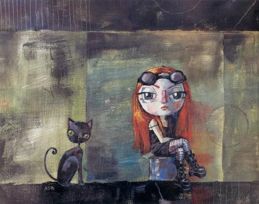 Лиддиард Кристенсен. Черная кошка